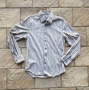 Nice light gray dressy express shirt